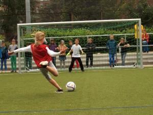 Fußball am Nachmittag